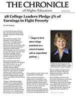 Chronicle of Higher Education 4/30/2012